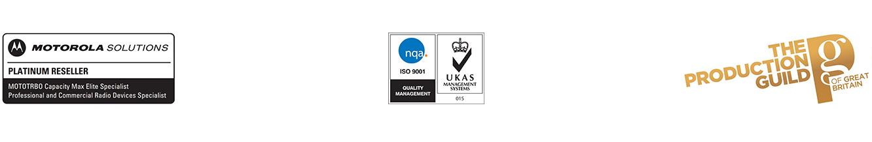 audiolink accreditation logos