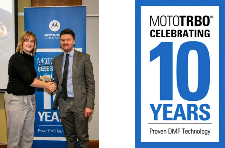 motorola 10 years award