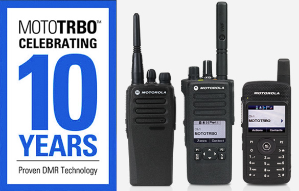 mototrbo 10 years award