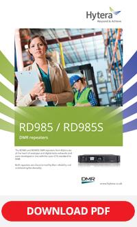 Hytera RD985 Repeater Brochure