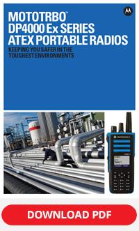 MOTOTRBO dp4000ex atex series spec sheet