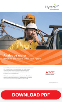 hytera analogue radios brochure