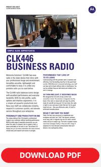 motorola clk446 brochure