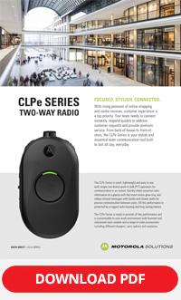 Motorola CLPe Datasheet