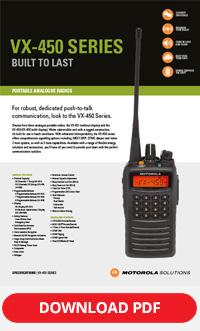 motorola vx-450 series brochure