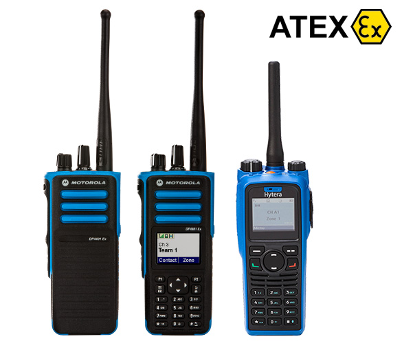 atex radios