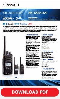 Kenwood NX-3200/NX3300 Brochure