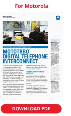 MOTOTRBO Digital Telephone Interconnect