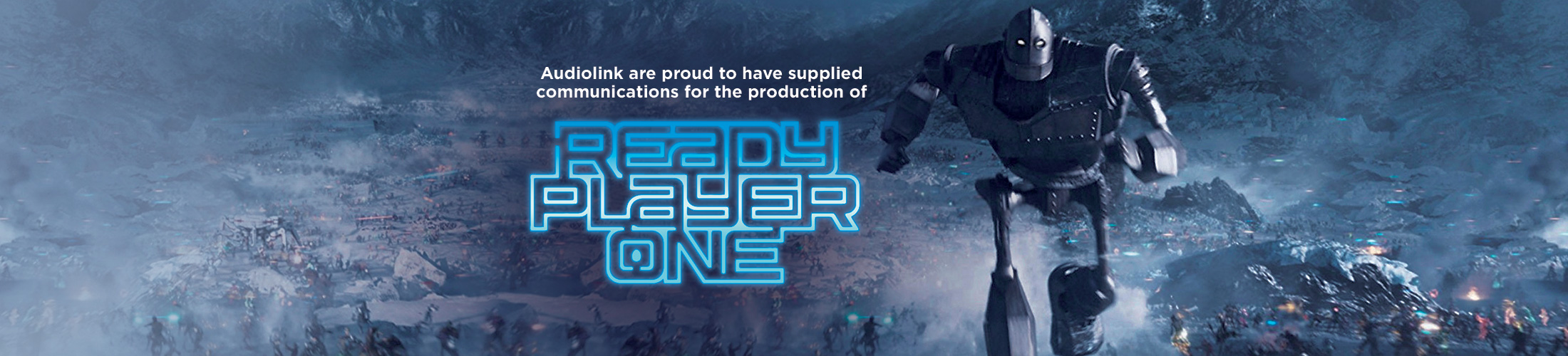 Ready Player One Hire Slider