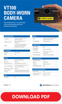 Motorola vt100 spec sheet