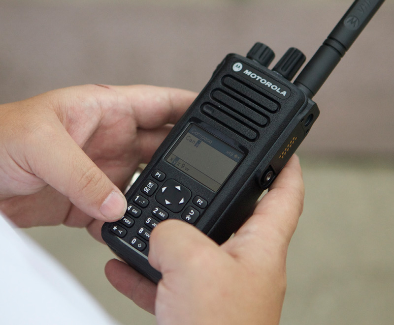 mototrbo dp4800e in use