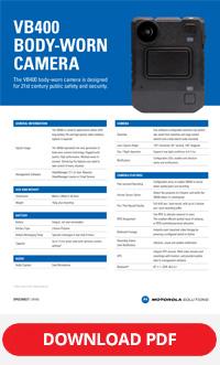 Motorola vb400 spec sheet