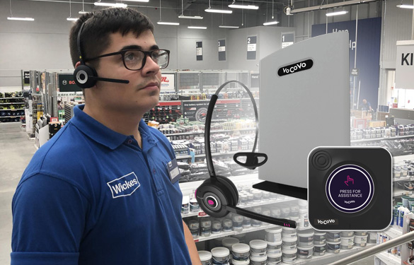 vocovo headsets for retail